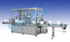 Dolum ve paketleme makinaları na örnek olarak Kova dolum makinası.