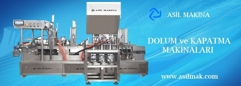 Dolum ve Kapatma Makinaları | ASİL MAKİNA
