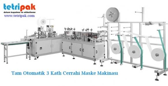 Tam Otomatik Maske Makinası